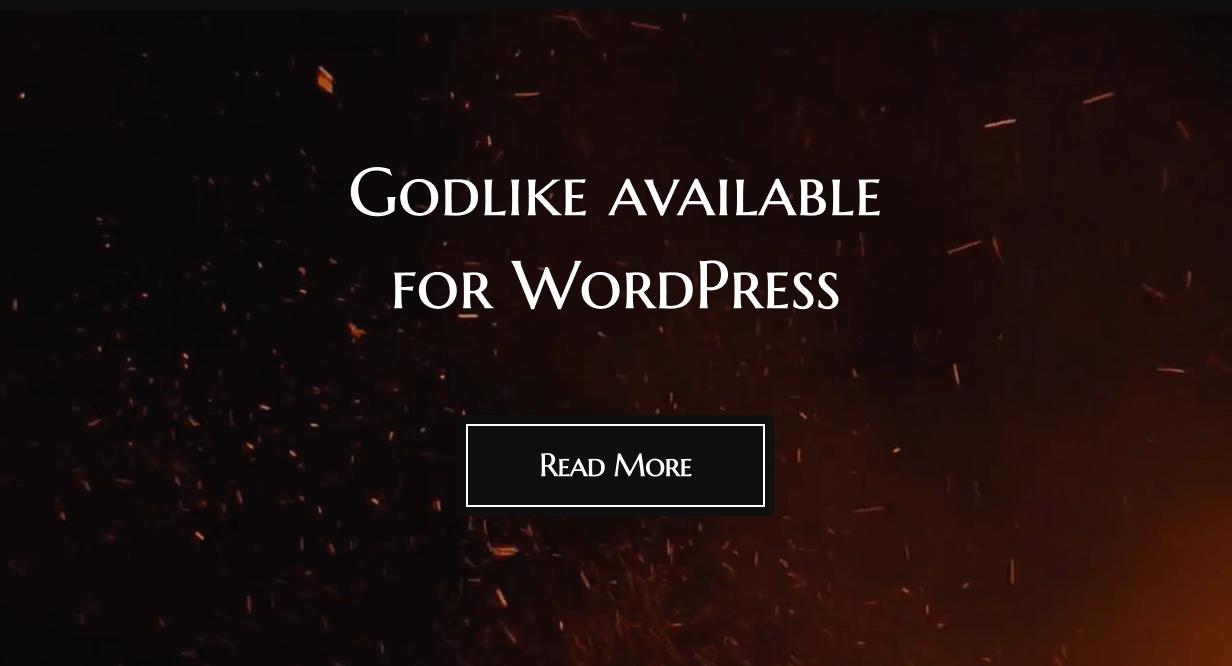 Godlike WordPress Theme