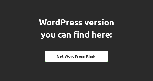 Khaki WordPress Theme