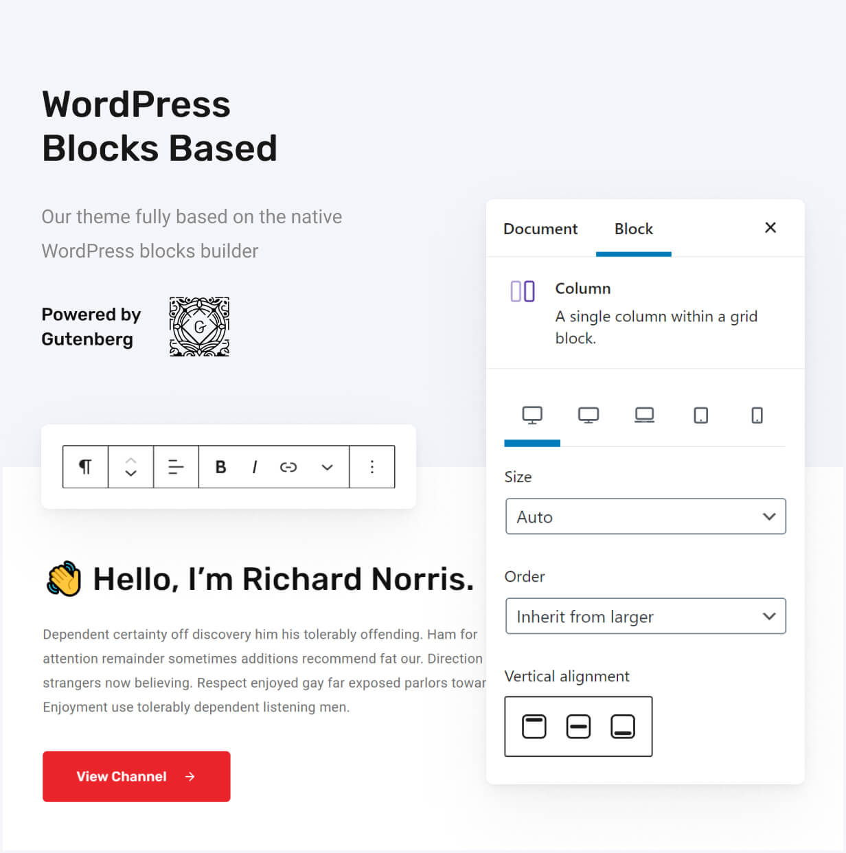 Redlens - Video WordPress Theme