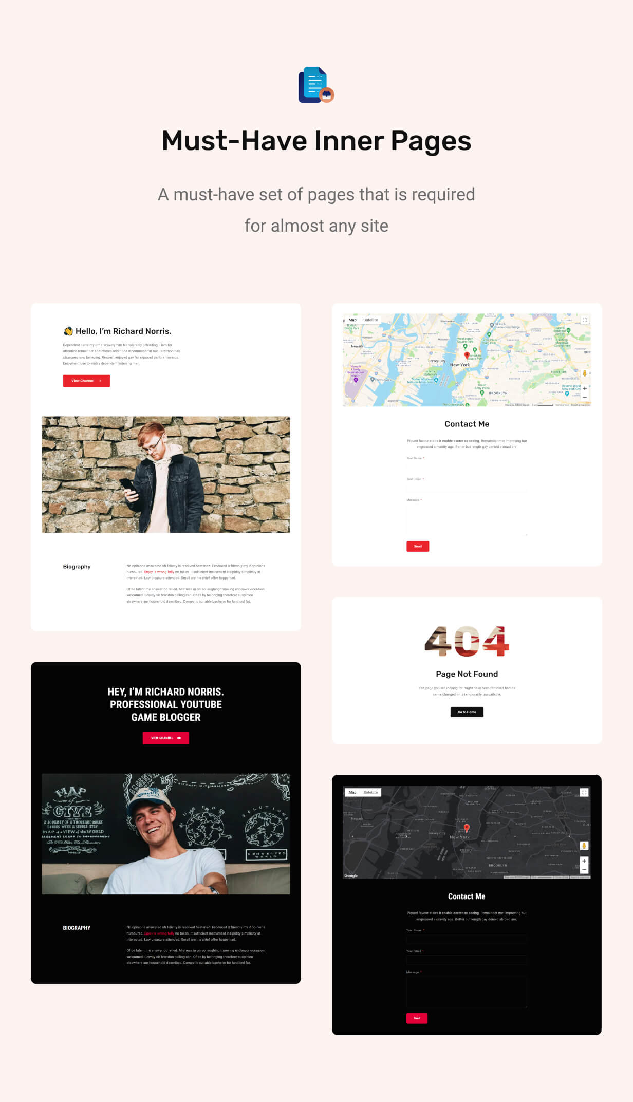 Redlens - Video WordPress Theme