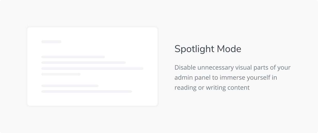 Spotlight Mode