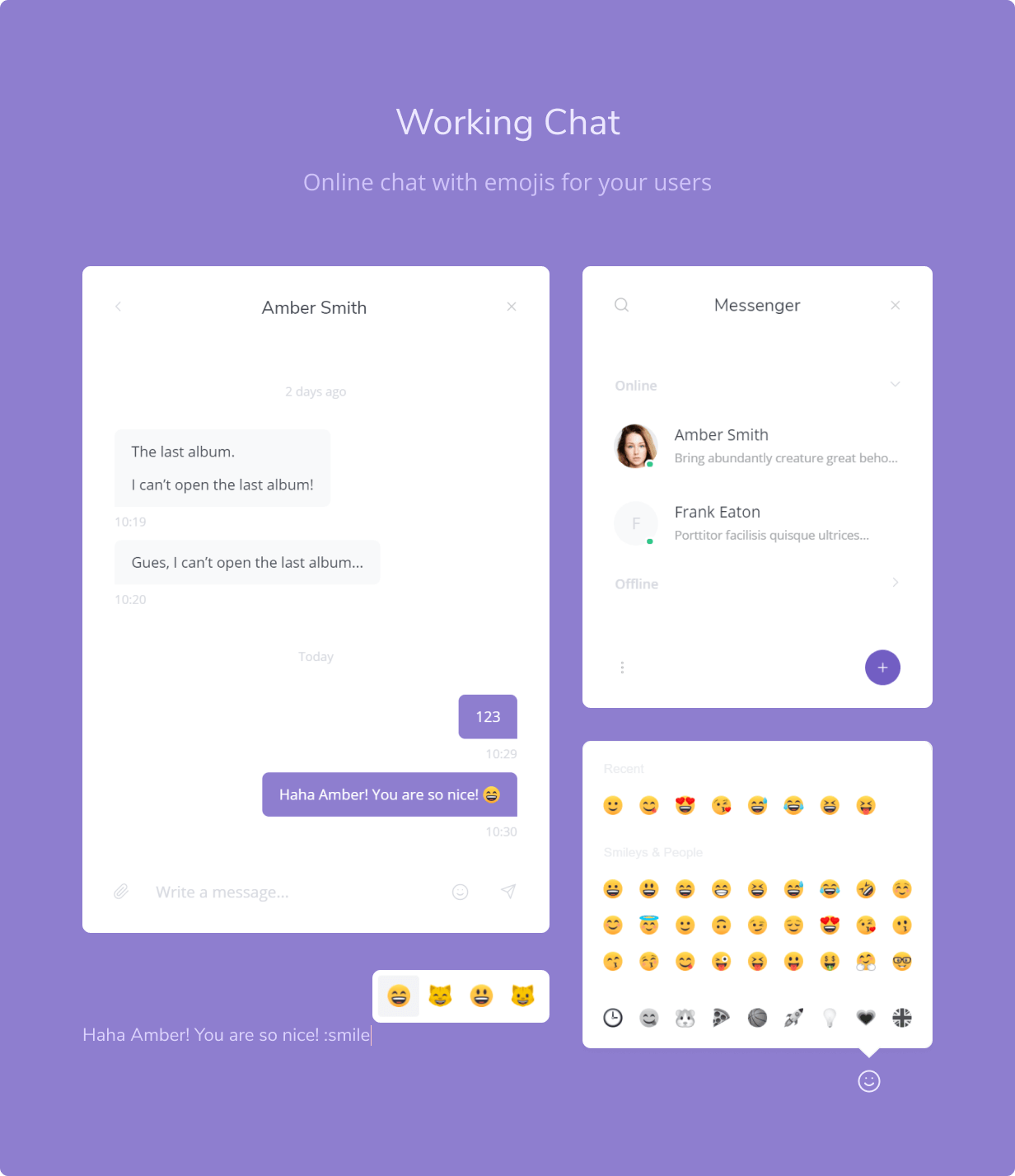 Working Chat