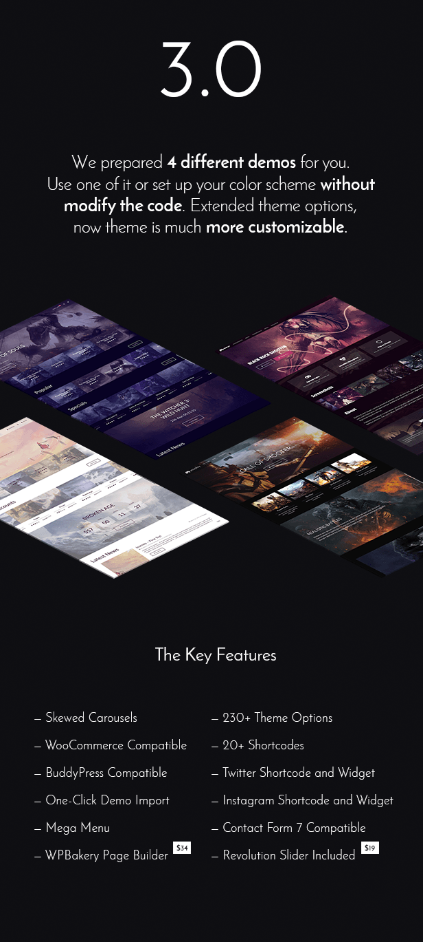 Youplay - Gaming WordPress Template